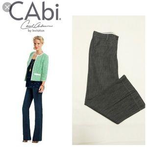 NWT CAbi Jeans Wide Leg Trouser in Indigo